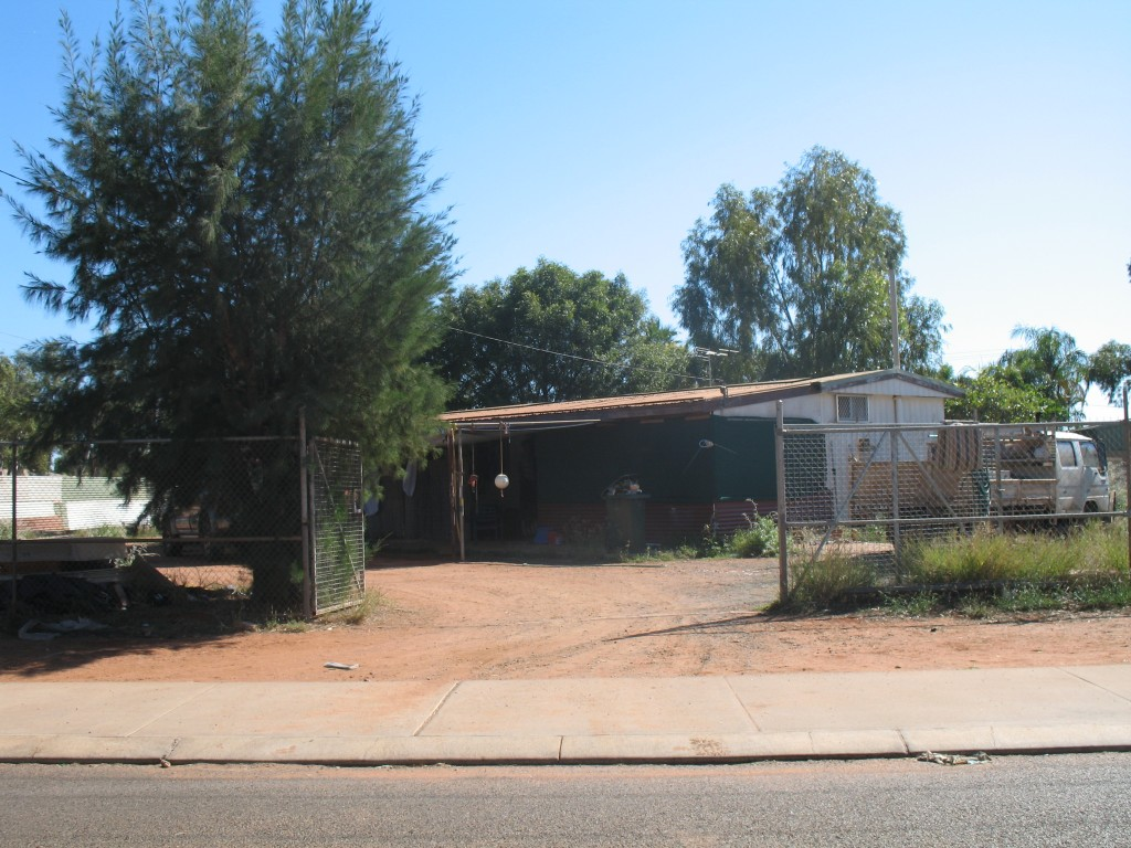 First house built in South Hedland